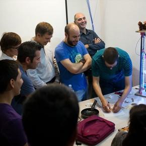 3D no es sólo plástico. Impresión de alimentos!