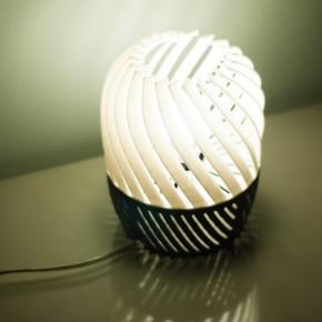 Turbine lamp: la lámpara diseñada por José Pacheco que te puedes imprimir
