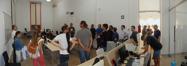 Preparación Printer Party 2016
