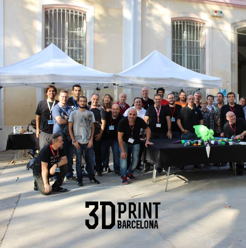 Foto grupo 3D Print Barcelona 2017